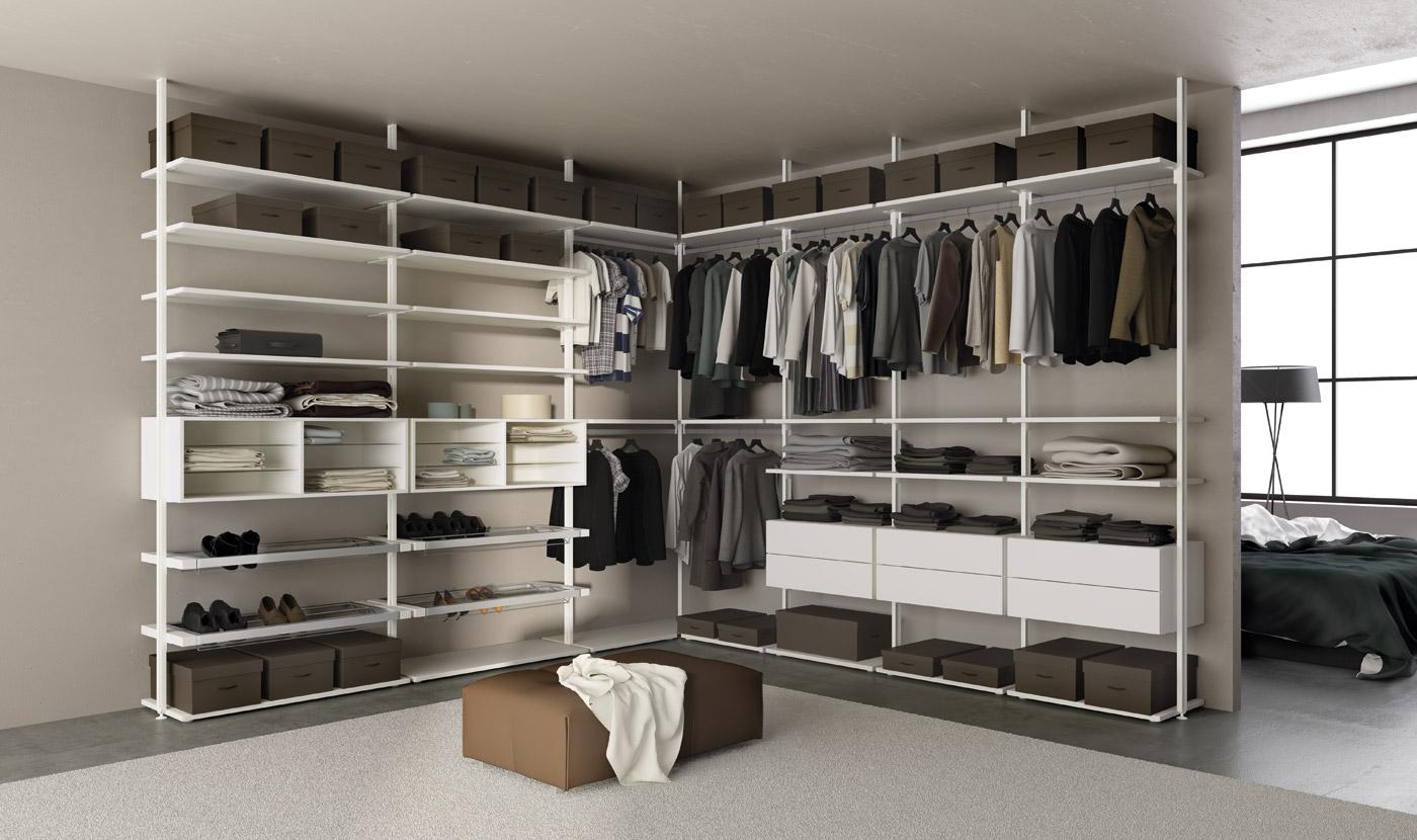 Loft olivieri mobili for Cabina armadio